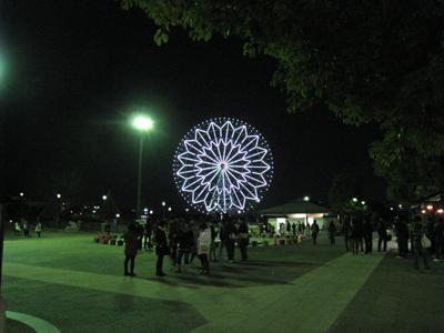 葛西臨海公園駅から見た観覧車