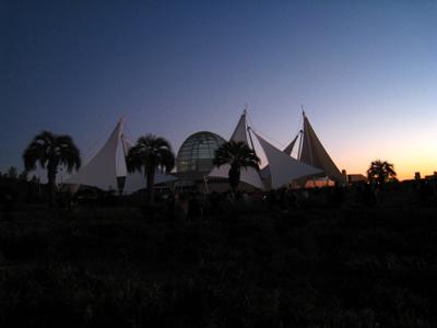 植物園の近景